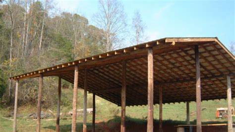 how to build pole shed how to build an inexpensive pole barn eco snippets