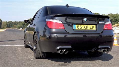 Bmw M5 Exhaust by Bmw M5 V10 Exhaust Sounds Best V10