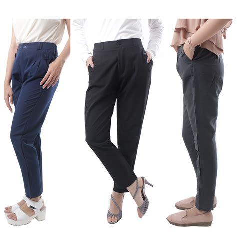 Wanita Menyusui Hamil Celana Panjang Celana Bahan Celana Wanita 5 Warna