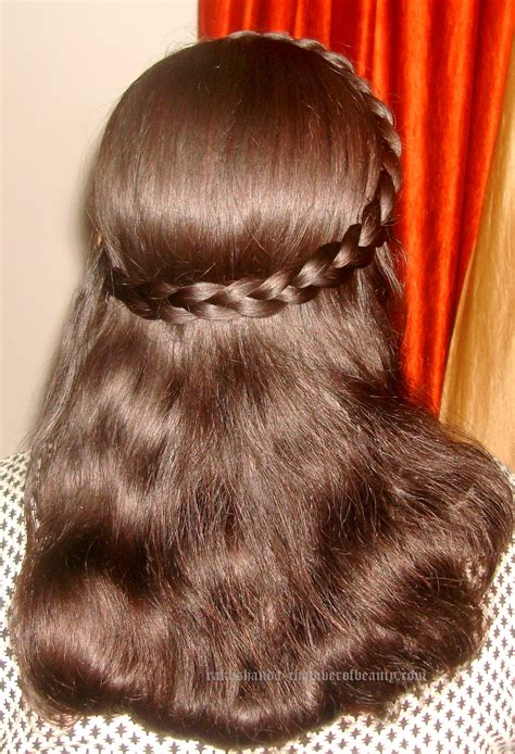 how to make side french braid hairstyle step by step