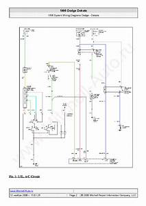 Dodge Dakota 1996 Wiring Diagrams Sch Service Manual