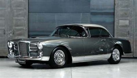 Facel Vega photographs and technical data - All Car ...