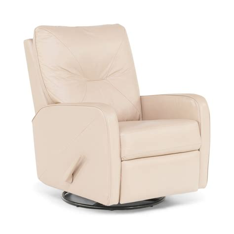 Recliners That Swivel by Theo Leather Swivel Rocker Recliner Hom Furniture