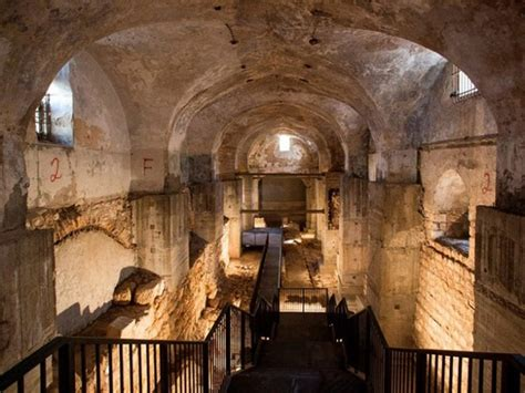 site  jesus trial  jerusalem herods palace remains
