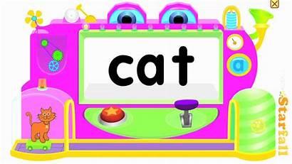 Words Cvc Phoneme Starfall Reading Blending Substitution