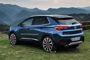Opel Grand Land X : 2017 opel grandland x rendering is a peugeot in disguise autoevolution ~ Medecine-chirurgie-esthetiques.com Avis de Voitures