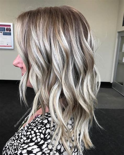 Ash Hairstyles by 10 Balayage Hair Color Ideas In Beige Gold Silver