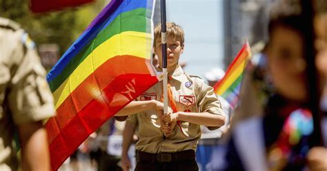 boy scouts  america votes   gay scout leaders