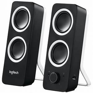 Logitech, Z200, Multimedia, Speakers, -, Midnight, Black, -, 980-000850