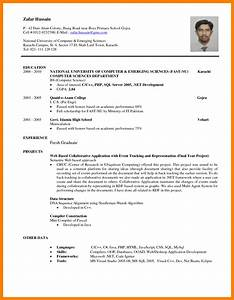 e Page Resume For Fresh Graduate Perfect Objectives