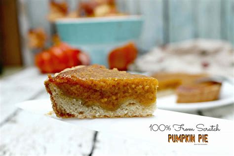 pumpkin pie from scratch delicious from scratch pumpkin pie in your thermo cooker
