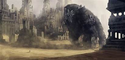 Monster Giant Wallpapers Imgur Colossus Shadow Fantasy