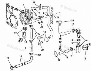 Johnson Outboard Parts By Hp 60hp Oem Parts Diagram For