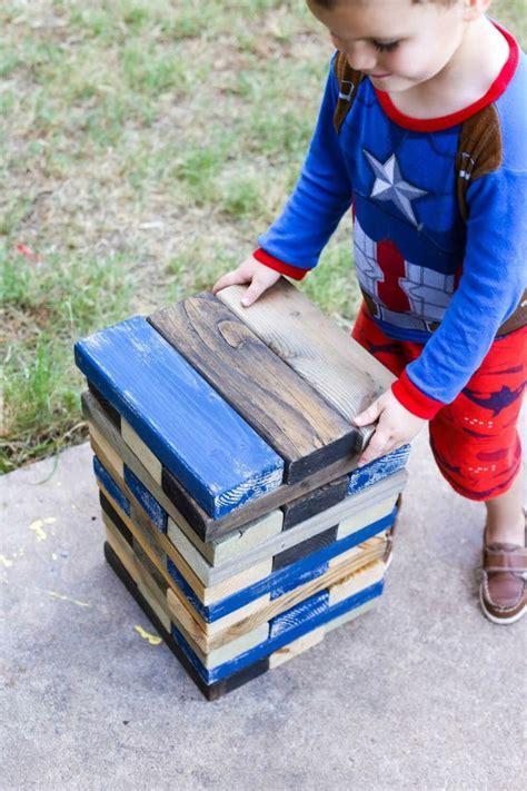 tortendeko für kindergeburtstag outdoor spiele f 195 188 r kindergeburtstag jenga spielen