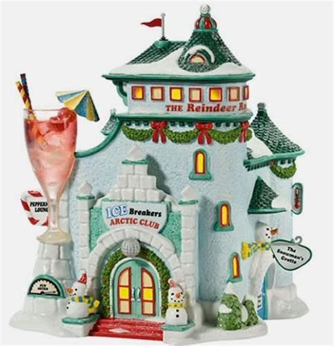 christmas ice breakers breakers lounges and department 56 on