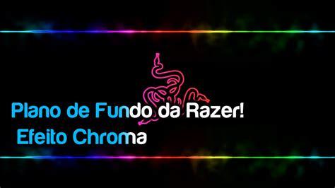 Razer Chroma Animated Wallpaper - tutorial plano de fundo razer chroma pt br