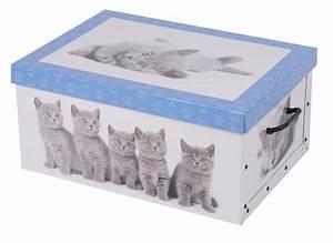 Box Mit Deckel Pappe : 2er aufbewahrungs box mit deckel katzenmuster kiste karton schachtel pappe ebay ~ Markanthonyermac.com Haus und Dekorationen