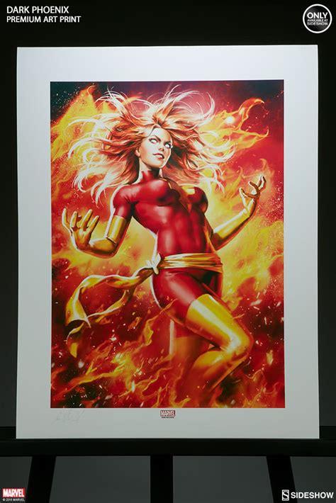 marvel dark phoenix premium art print  sideshow
