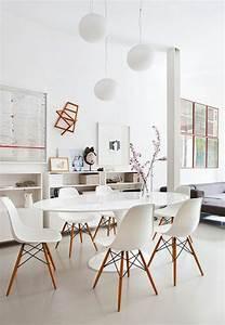 Table De Cuisine Ovale : les variantes convenables pour la suspension blanche ~ Teatrodelosmanantiales.com Idées de Décoration