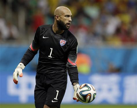 US Soccer Goalie Tim Howard: '100 Percent in Favor of What ...