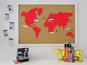 Decoration Murale Monde : d co murale carte du monde ~ Teatrodelosmanantiales.com Idées de Décoration