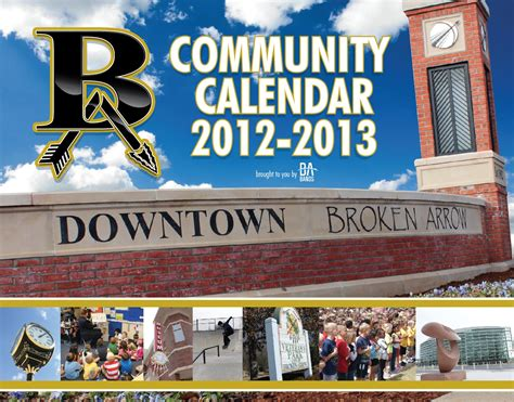 ba community calendar broken arrow bands