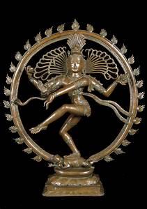 """Antique Bronze 19th Century Nataraj Statue 36"""" (#antique ..."""