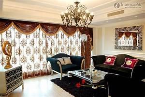 25 modern living room curtains design ideas 2016 living With design curtains for living room