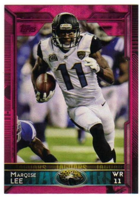 2015 Topps BCA Pink #134 Marqise Lee 292/499 Jaguars ...