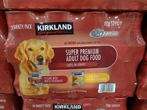 kirkland signature cuts and gravy dog food With costco adult dog food