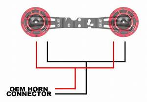 Grimmspeed Hella Supertone Horn Wiring Harness