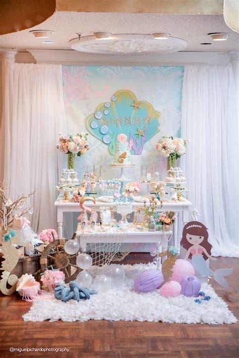 Kara's Party Ideas Pastel Mermaid Birthday Party Kara's