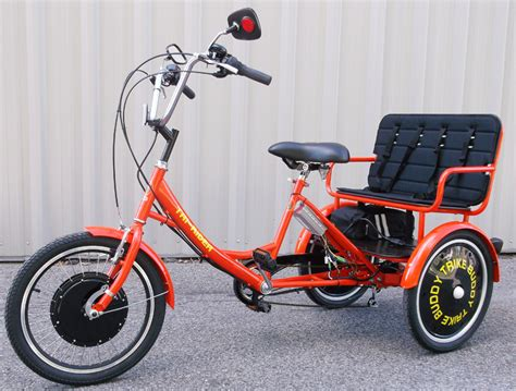 Electric Motor For Tricycle by Buddy Trike 2 Passenger 6 Speed Electric Tricycle