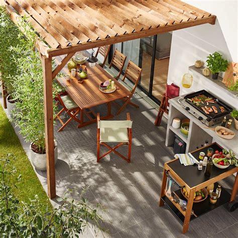 cheminee extérieure barbecue cuisine ment concevoir une cuisine ext 195 169 rieure pour l 195