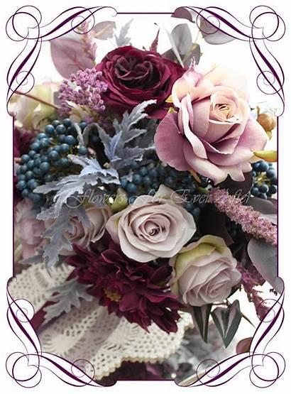 Brooklyn Bouquet Bridal Flowers Flower Artificial Silk