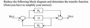 Solved  Reduce Block Diagram   Please Help Me With This Pr
