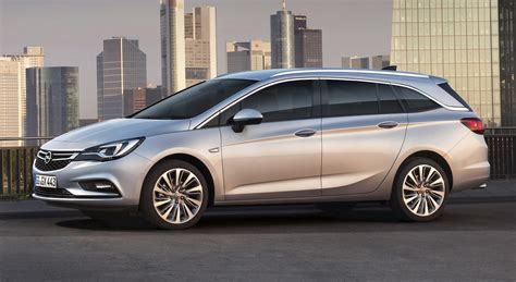 Opel Astra Wagon by 2016 Opel Astra Sports Tourer Wagon Revealed For Frankfurt
