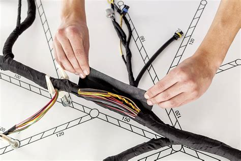 Rail Wire Harnes by Wire Harness Bundling And Protection Tesa