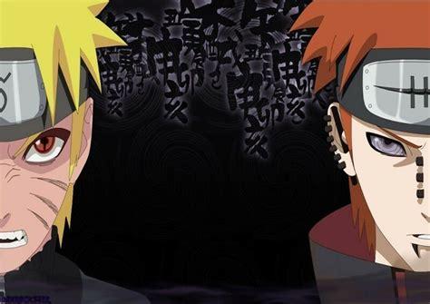 Poster Naruto Sasuke Nagato Organizzazione Alba Akatsuki