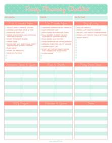 Planning A Bridal Shower Checklist by Photo Baby Shower Checklist Home Image