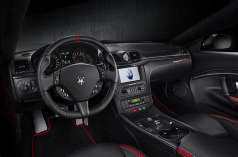 new maserati interior 2014 maserati granturismo mc centennial edition coupe