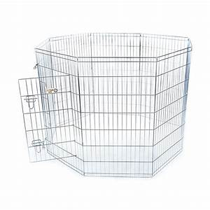 shop majestic pets 48 in silver wire outdoor exercise pen With lowes outdoor dog pens