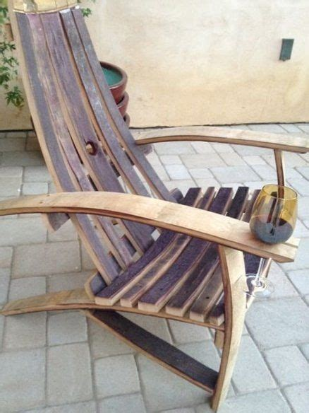wine barrel adirondack chair plans  woodworking