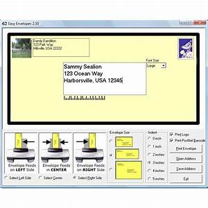 Find 5 free envelope printing software programs create for Envelope address printing online