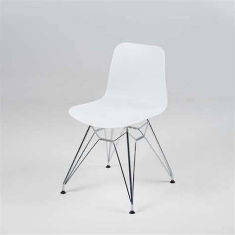 chaise en métal contemporain accueil designs et aussi chaise design en polypropyl 195 ne et m 195 tal c 195 leste 4