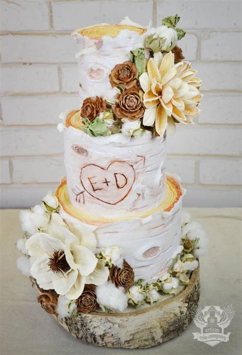rustic weddings in portland oregon artisan cake company