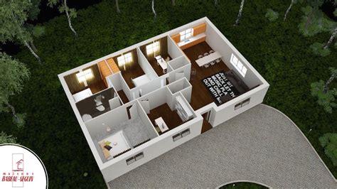 plan de chambre 3d aubetiere maison moderne plain pied pas cher