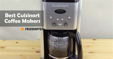 However, the wife really prefers some sort of automatic drip coffee maker, with a traditional filter that heats the water for you. Best Cuisinart Coffee Maker - Top Picks 2021 | Friedcoffee