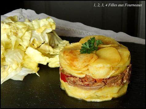 recettes de cuisine simple pour tous les jours mille feuille de pomme de terre et de canard confit 1 2