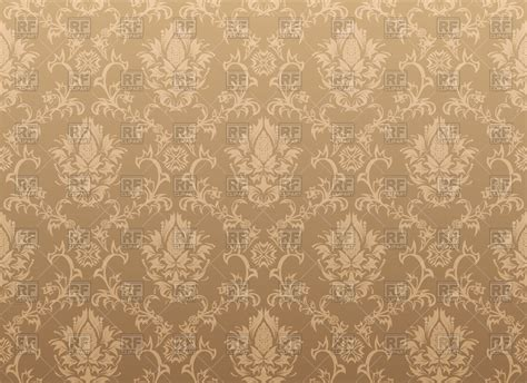 seamless antique pattern classic victorian style brown